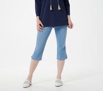 Belle By Kim Gravel Belle by Kim Gravel Petite Flexibelle Capri Jeans