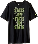 Nike Stats On Stats Training Shirt (Little Kids/Big Kids)