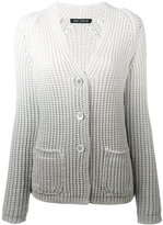 Iris von Arnim ombré cardigan - women - Cotton/Nylon - S