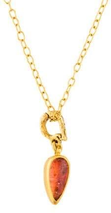 Gurhan Diamond & Tourmaline Pendant Necklace