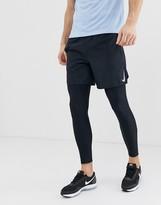 Nike Running challenger 7 inch shorts in black