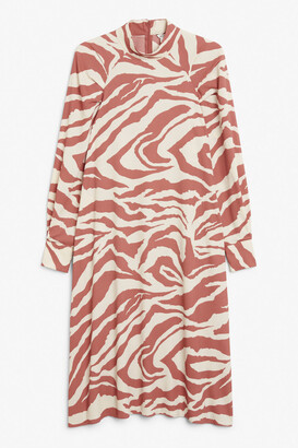 Monki High-neck midi dress