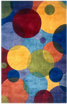 Momeni Area Rug, Perspective NW-37 Circles Multi 2' x 3'