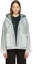 Proenza Schouler Off-White Short Lined Rain Jacket