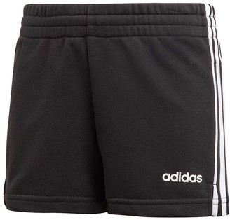 adidas Girls 3 Stripes Shorts