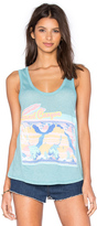 Wildfox Couture Canyon Postcard Tank
