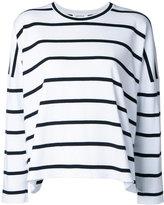 Enfold striped sweatshirt - women - Cotton - 38