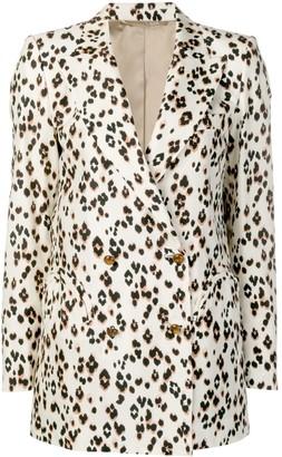 BLAZÉ MILANO animal print blazer