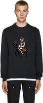 Dolce & Gabbana Navy Cowboy & Horse Pullover