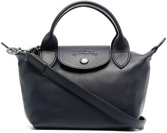 Longchamp extra small Le Pliage Cuir top handle bag