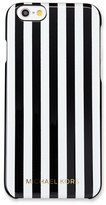 MICHAEL Michael Kors Preppy Stripe iPhone 6/6s Case, Black/White