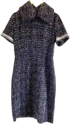 Calvin Klein Collection Grey Wool Dresses