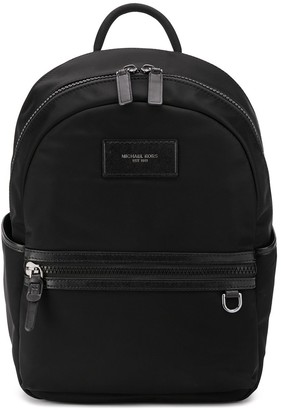 Michael Kors Logo-Patch Medium Backpack