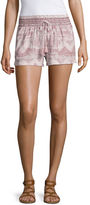 Tyte Jeans Rewash Woven Pull-On Shorts-Juniors