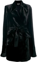 Ann Demeulemeester robe coat - women - Rayon/Silk/Acetate/Polyester - 42