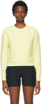 Rag & Bone Yellow Terry City Sweatshirt