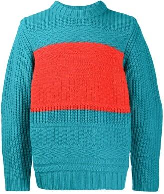 Paul Smith Colourblock Knitted Jumper