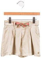 Gucci Girls' Silk-Blend Belted Skirt w/ Tags