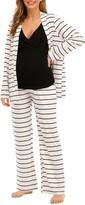 Thumbnail for your product : Savi Mom Riviera Tank, Pants & Robe Maternity Set
