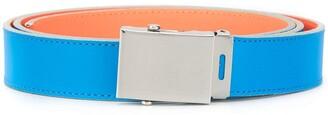 Comme des Garcons Colour Block Buckled Belt