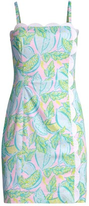 Lilly Pulitzer Mercede Scallop Dress