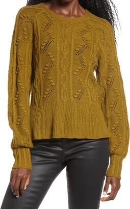 Vero Moda Joel Cable Knit Sweater