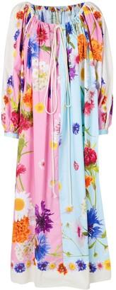 Natasha Zinko Oversized Floral Dress