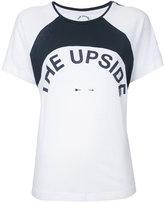 The Upside logo print T-shirt - women - Cotton - S