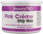 BeautyPRO Pink Creme Strip Wax Tin 425g