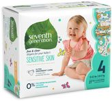 Seventh Generation Seventh GenerationTM 81-Count Size 4 Free & Clear Diapers