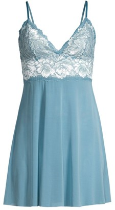 Hanky Panky Gabriella Floral Lace Chemise