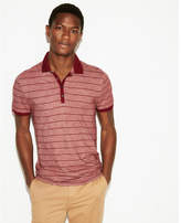 Express supersoft thin stripe jersey polo