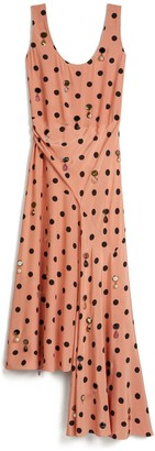 Tory Burch Jewel-Embroidered Dress