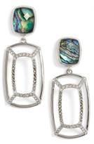Judith Jack Women's Abalone Double Drop Earrings