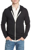 Alternative Men's Lightweight Eco-Heather Zip Front Hoodie