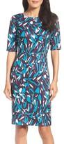 Ellen Tracy Women's Ponte Pencil Dress