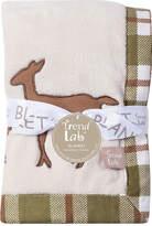TREND LAB, LLC Trend Lab Deer Lodge Framed Fleece Baby Blanket