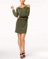 MICHAEL Michael Kors Cold-Shoulder Dress