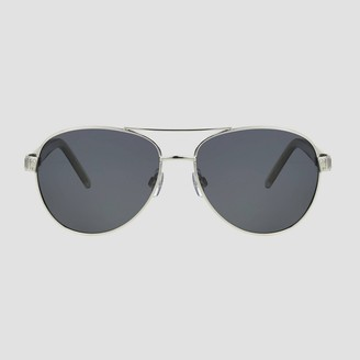 A New Day Women' Aviator Metal hiny unglae ilver