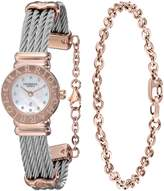 Charriol Women's ST20CP1520RO004 St Tropez Analog Display Swiss Quartz Silver Watch