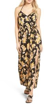 Band of Gypsies Women's Floral Print Maxi Dress