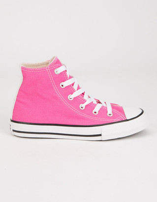 Converse Chuck Taylor All Star Galaxy Dust High Top Pink Girls Shoes
