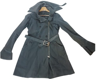 Patrizia Pepe Grey Cotton Coat for Women