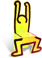 Vilac 9294 - Chaise Jaune - Keith Haring