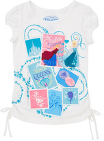 Jerry Leigh White Frozen Magic Tee - Girls