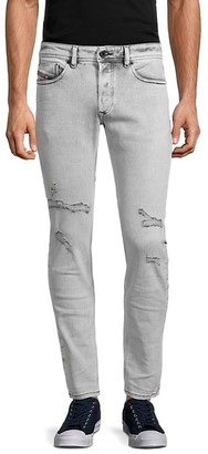 Diesel Distressed Slim Skinny-Fit Jeans