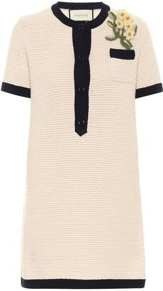 Gucci Wool knit minidress