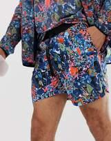 Nike Running Flex 7 inch printed shorts in multicolour