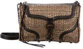 Rebecca Minkoff Metallic Woven M.A.C. Crossbody Bag