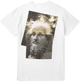 Neil Barrett - Einstein Printed Cotton-jersey T-shirt